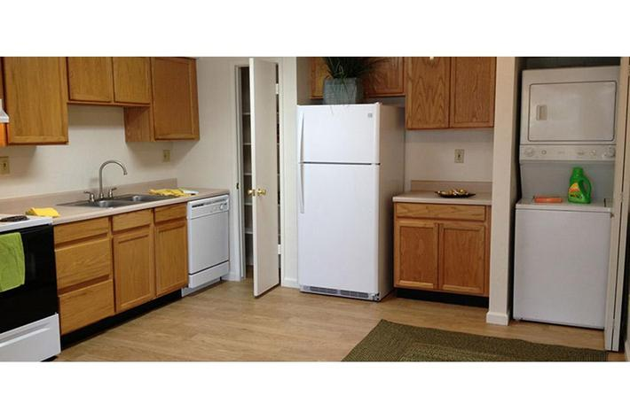 Kitchens are very spacious at Prescott Pointe