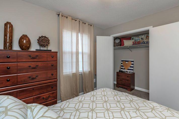Ample Closet Space in Clarksville TN