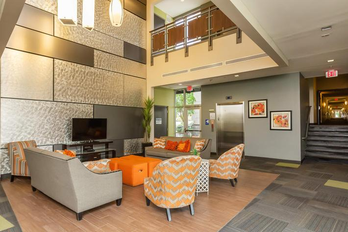 Common Area at Uptown Flats