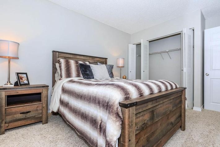 Cozy Bedrooms At The Oasis at Bayside in Largo, Florida