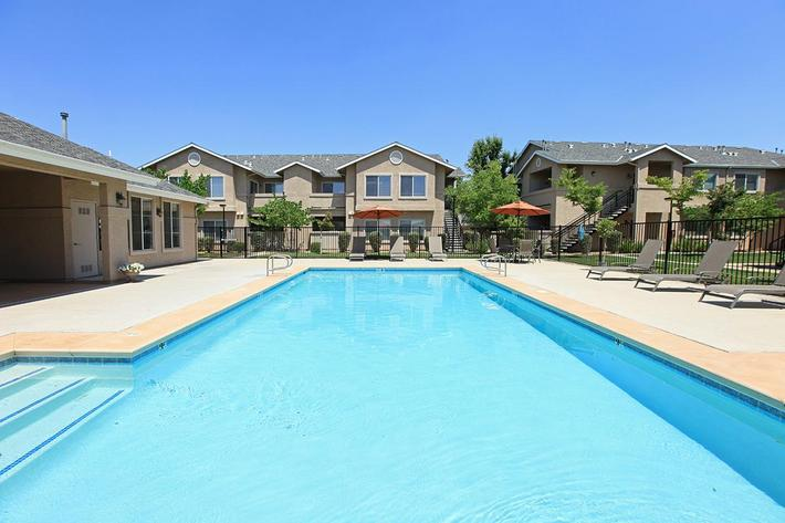 You will like the swimming pool at Granite Ridge