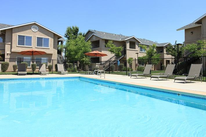 Take a dip in the pool at Granite Ridge