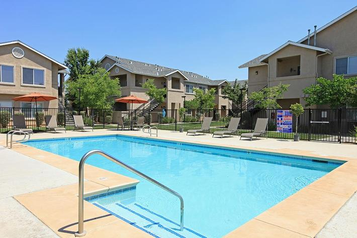 Enjoy the pool at Granite Ridge