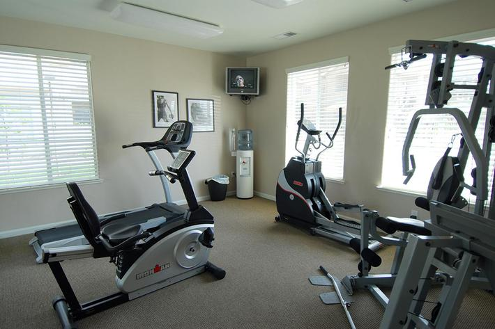 You will like the fitness center at Granite Ridge
