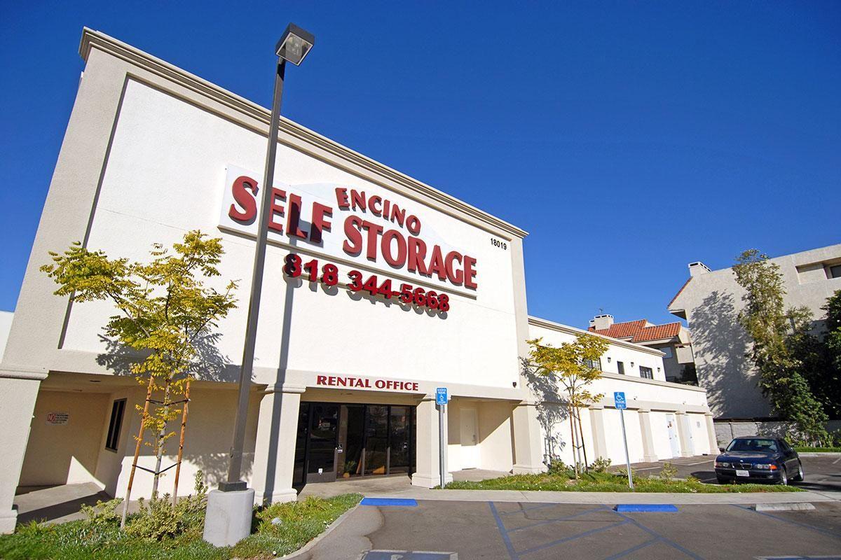 Encino Self Storage is Conveniently Located off Ventura Blvd Near the 101 Freeway