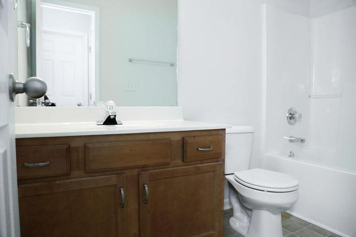 Modern Bathroom at Chapman's Retreat