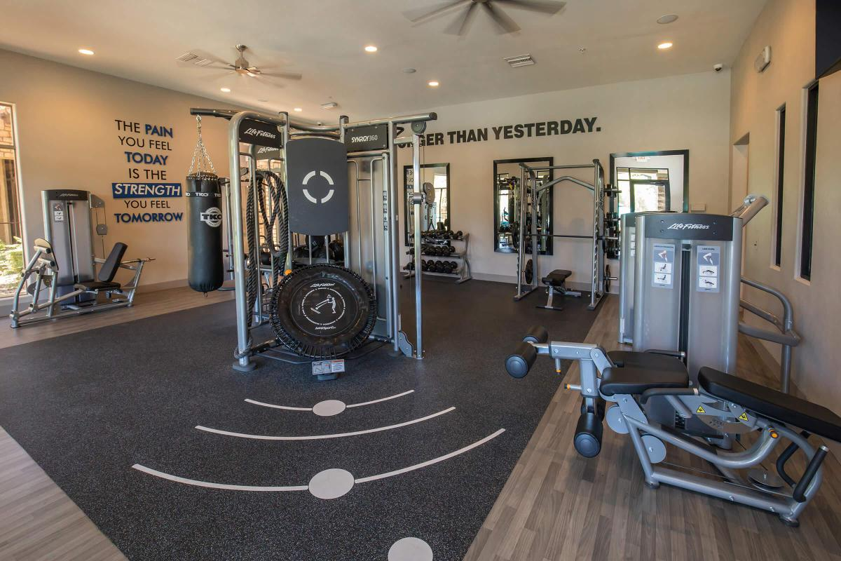 24-HOUR STATE-OF-THE-ART FITNESS FACILITY