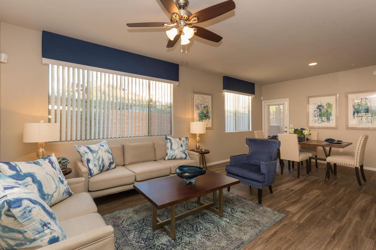 Your New Living Room at The Pavilions At Providence Apartments