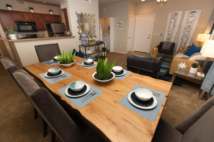 Open Floor Plan at The Pavilions At Providence Apartments