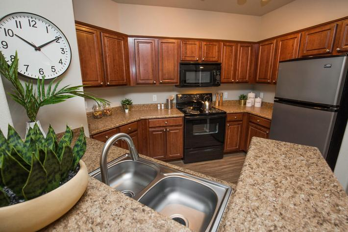 All-Electric Kitchen in Las Vegas, Nevada