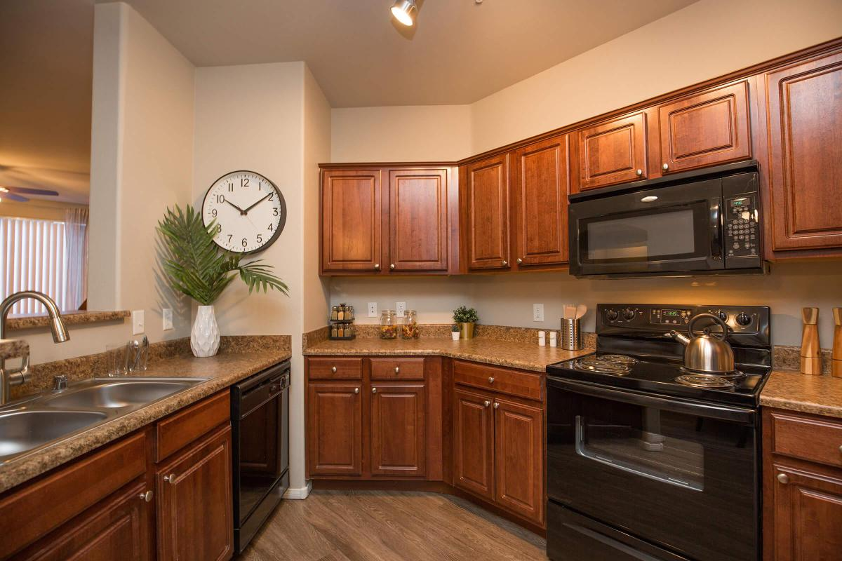Lots of Kitchen Counter Space