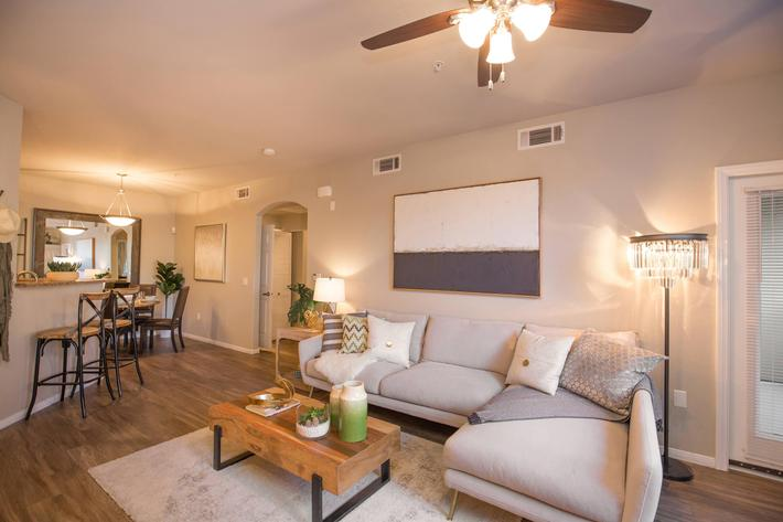 Open Concept Living at The Pavilions At Providence Apartments