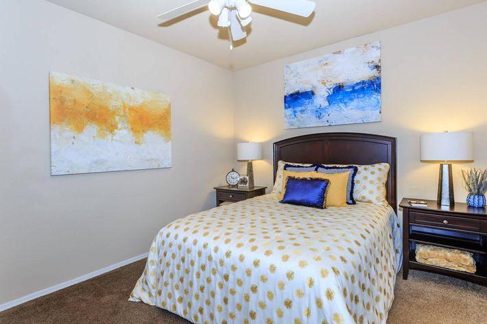 Cozy Bedroom at Aliante Apartment Homes