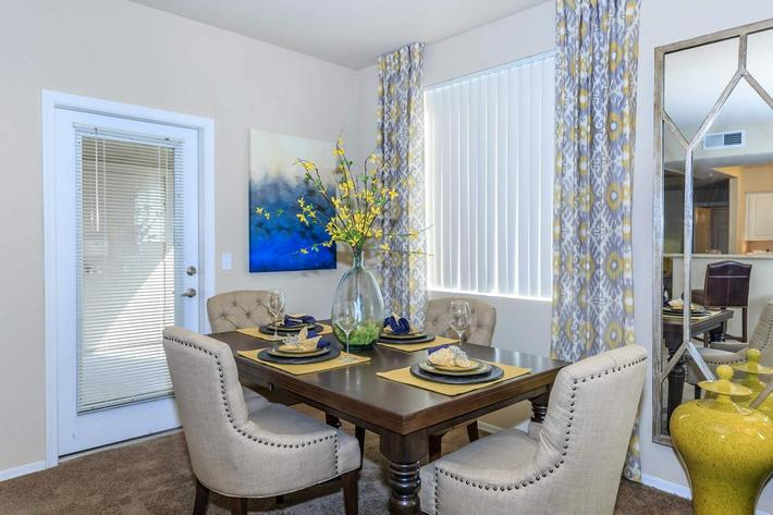 Your new dining room in Scottsdale, Arizona