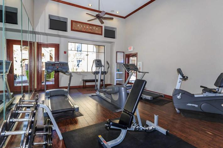 Get Fit at Aliante Apartment Homes