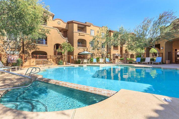 Shimmering Pool in Scottsdale, Arizona