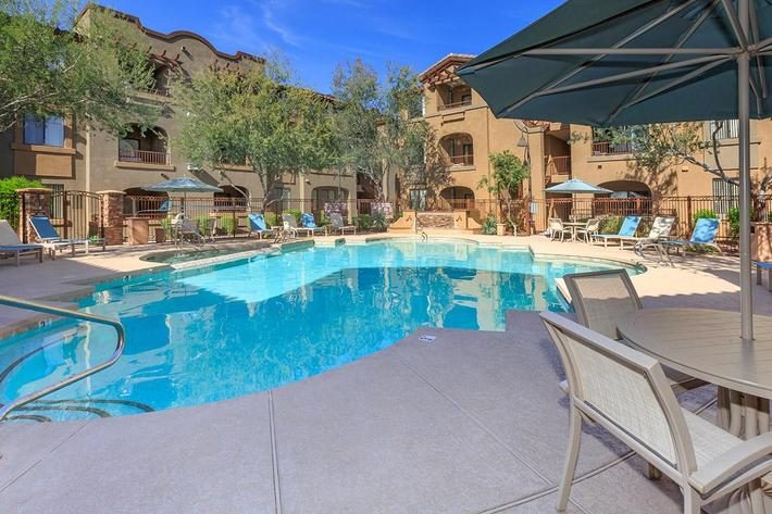 Swimming Pool at Aliante Apartment Homes in Scottsdale, Arizona