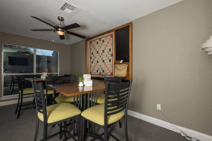 Clubhouse and cyber cafe at Element Apartments