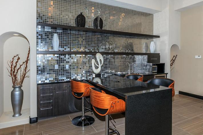 UNWIND IN THE CLUBHOUSE AT ST. CLAIR APARTMENTS IN LAS VEGAS, NEVADA