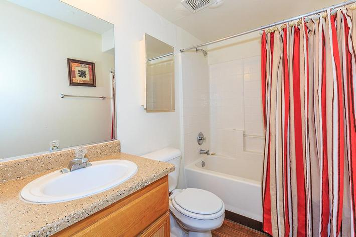 MODERN BATHROOM AT CHEYENNE POINTE IN LAS VEGAS, NEVADA
