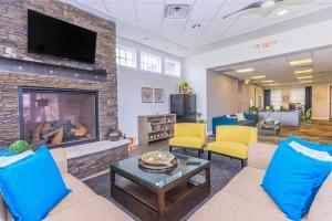 Common Area at The District Apartments
