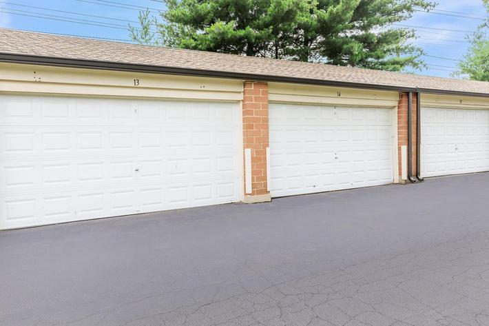 Garages available here at The District