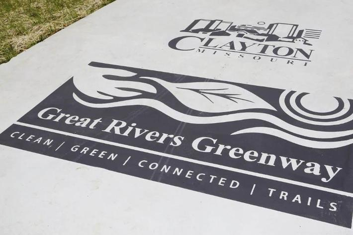 Great Rivers Greenway here at The District