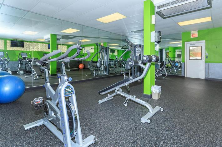 Staying fit is easy here at The District