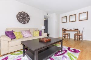 Open floor plans here at The District in St. Louis, Missouri