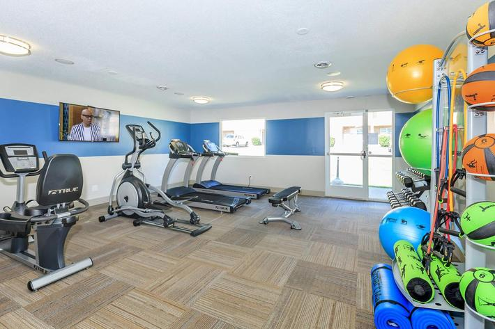 Your Fitness Center at The Ashley Columbia