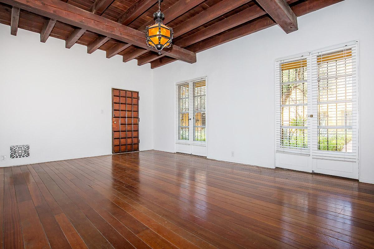 Vaulted Ceilings in Select Homes at Casa Laguna Apartments
