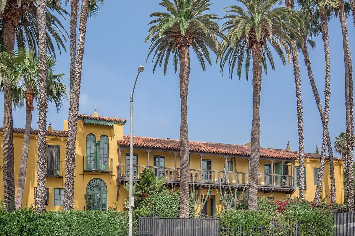 Handsome Exteriors at Casa Laguna in Los Angeles, California