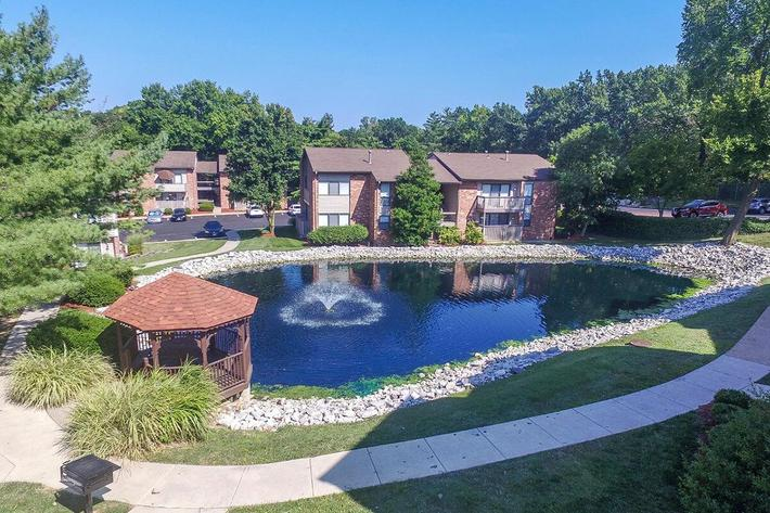 Orchard Village Apartments in Manchester, MO - Exterior 21.jpg