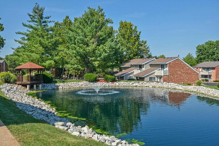 Orchard Village Apartments in Manchester, MO - Exterior 24.jpg