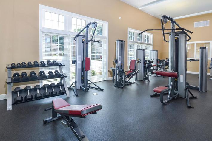 Orchard Village Apartments in Manchester, MO - Fitness Center 03.jpg