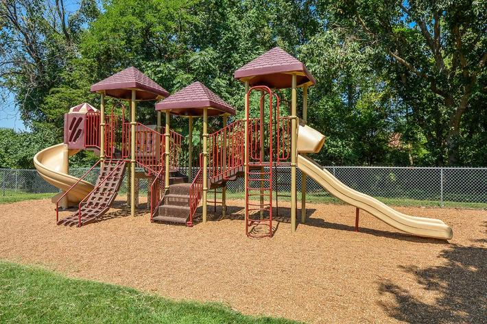 Orchard Village Apartments in Manchester, MO - Playground 01.jpg