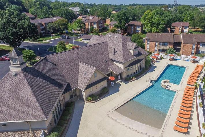 Orchard Village Apartments in Manchester, MO - Swimming Pool 01.jpg