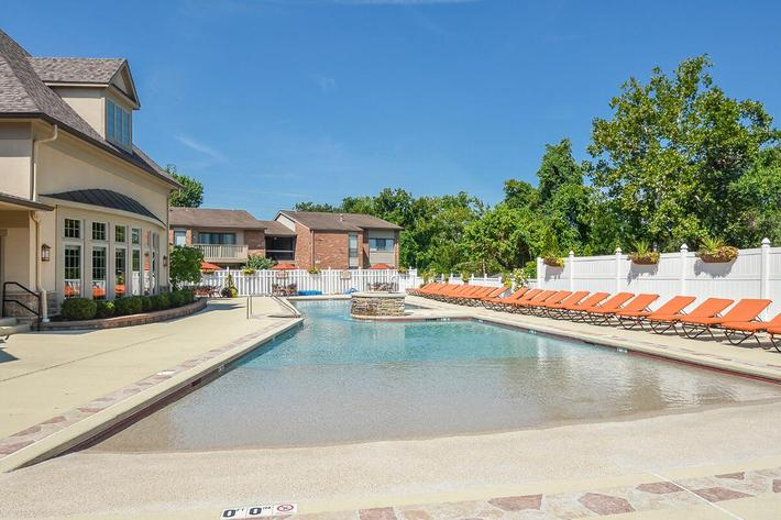 Orchard Village Apartments in Manchester, MO - Swimming Pool 02.jpg