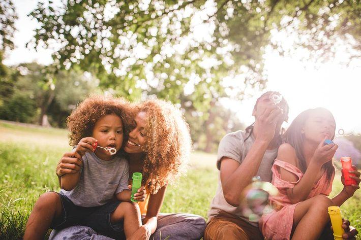 A family enjoying time together in Texarkana, Texas