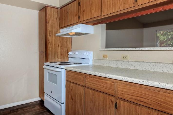Plenty of kitchen cabinets at The Park at Summerhill Road