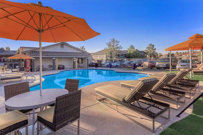 Swimming Pool at Sunset Hills, Henderson, Nevada