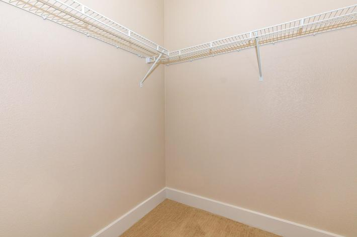 Walk-in Closets Available at ArborView Apartments in Austin, Texas