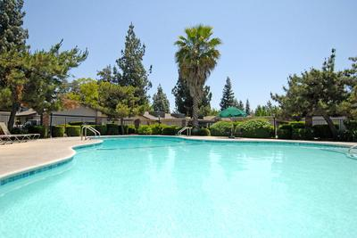 This is the pool at Rancho Sierra