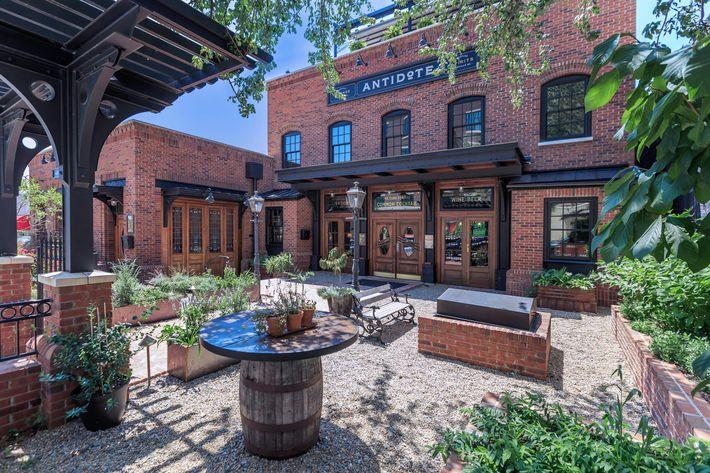 Enjoy the outdoors at The Lofts at South Slope in Asheville, North Carolina.