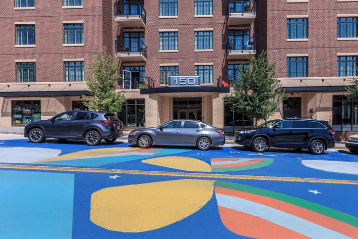 Mid-rise community at The Lofts at South Slope in Asheville, NC.