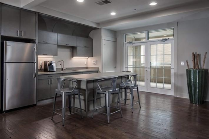 Modern living at The Lofts at South Slope in Asheville, North Carolina.