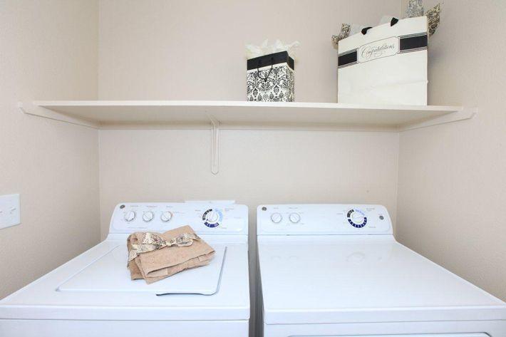 Villa Sa Vini provides full-size washer-dryers