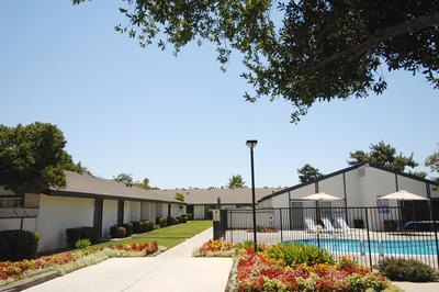 You will like the walkways at Westwood Apartments