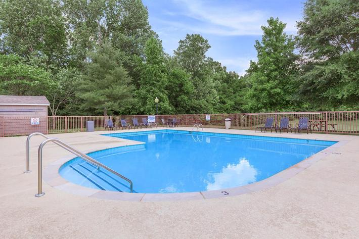 Swimming Pool at Hickory Pointe