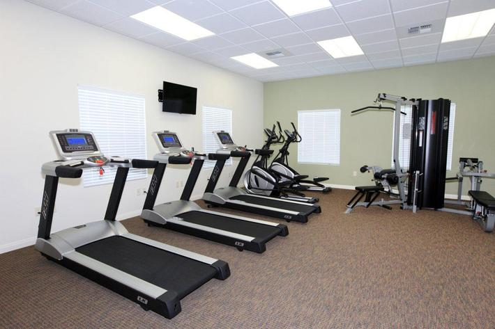 This is the state-of-the-art fitness center at Watermark